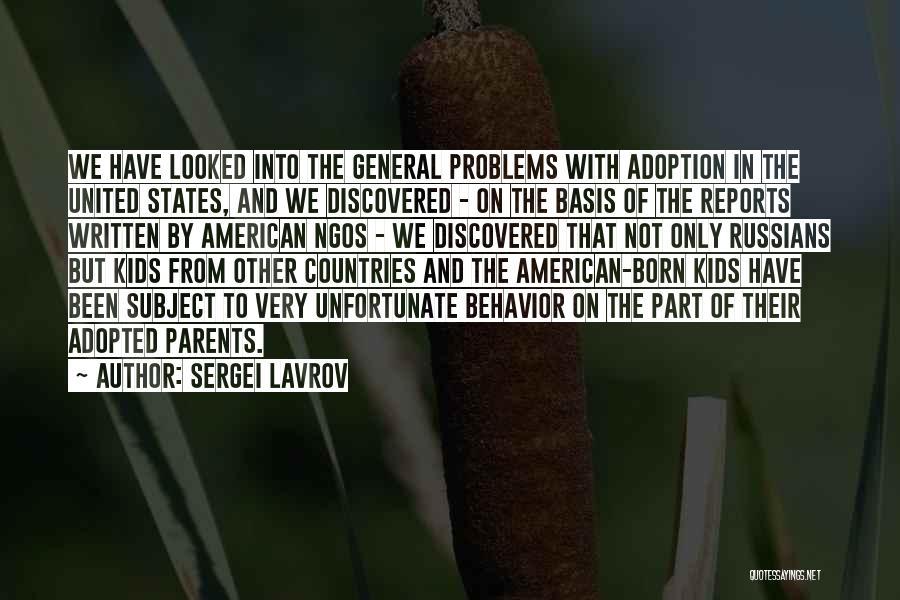 Sergei Lavrov Quotes 1607143