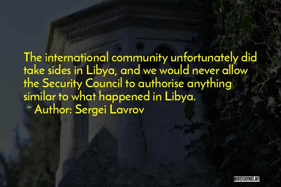 Sergei Lavrov Quotes 163956