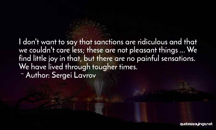 Sergei Lavrov Quotes 1651387