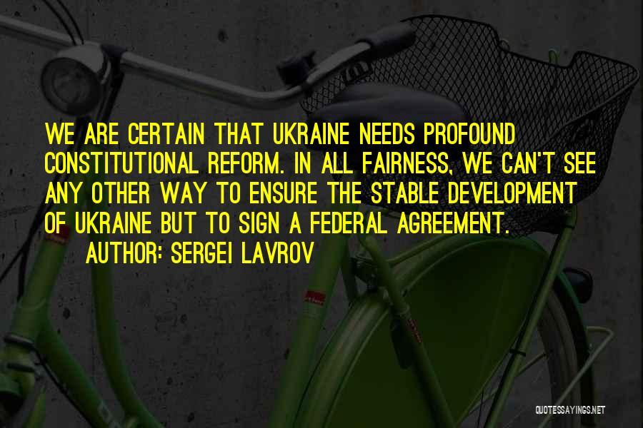 Sergei Lavrov Quotes 1715670