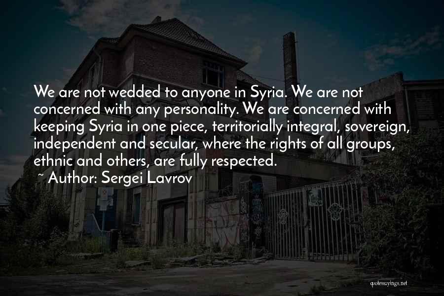 Sergei Lavrov Quotes 1769909