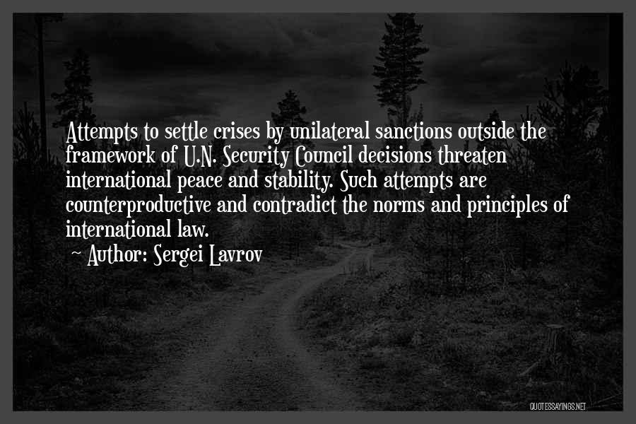 Sergei Lavrov Quotes 1807673