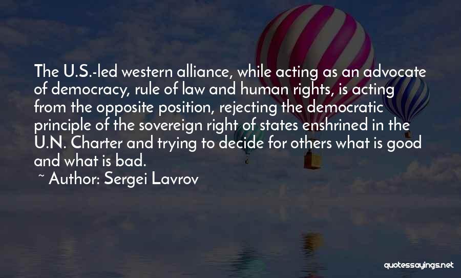 Sergei Lavrov Quotes 2005281
