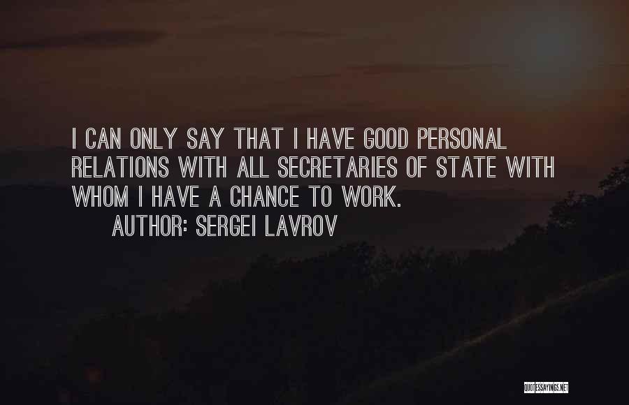 Sergei Lavrov Quotes 208899