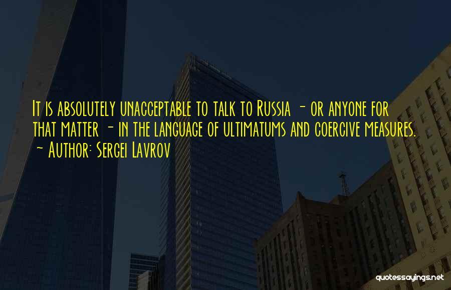 Sergei Lavrov Quotes 384968