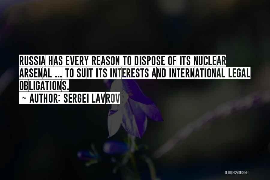 Sergei Lavrov Quotes 436207
