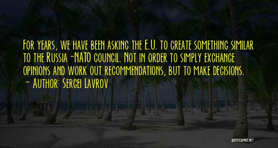 Sergei Lavrov Quotes 460102