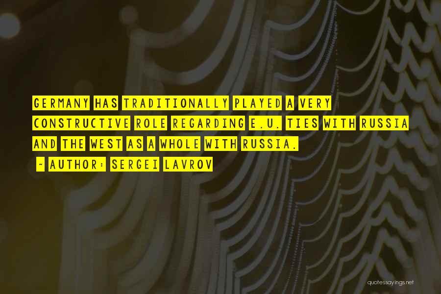 Sergei Lavrov Quotes 669980