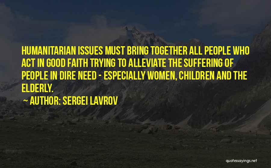 Sergei Lavrov Quotes 695868