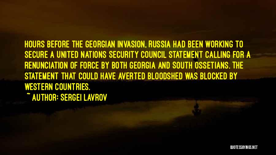 Sergei Lavrov Quotes 783838