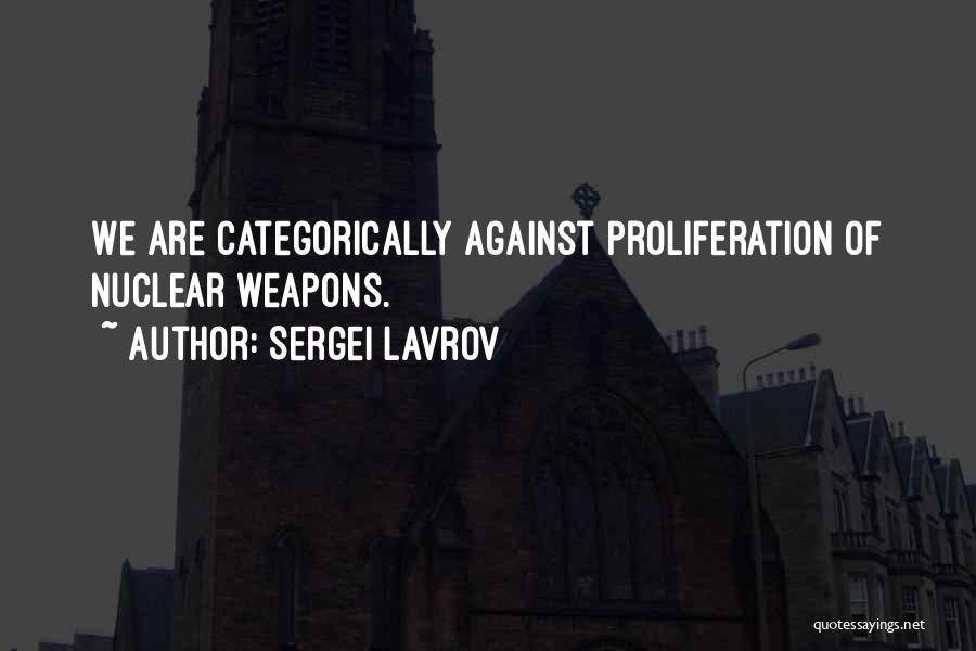Sergei Lavrov Quotes 907251