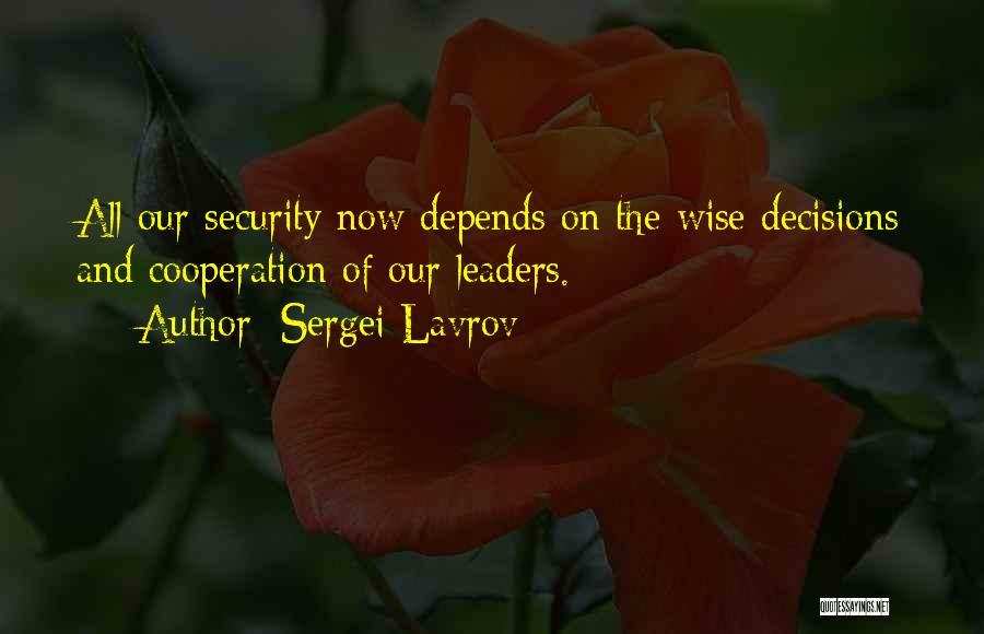 Sergei Lavrov Quotes 933756