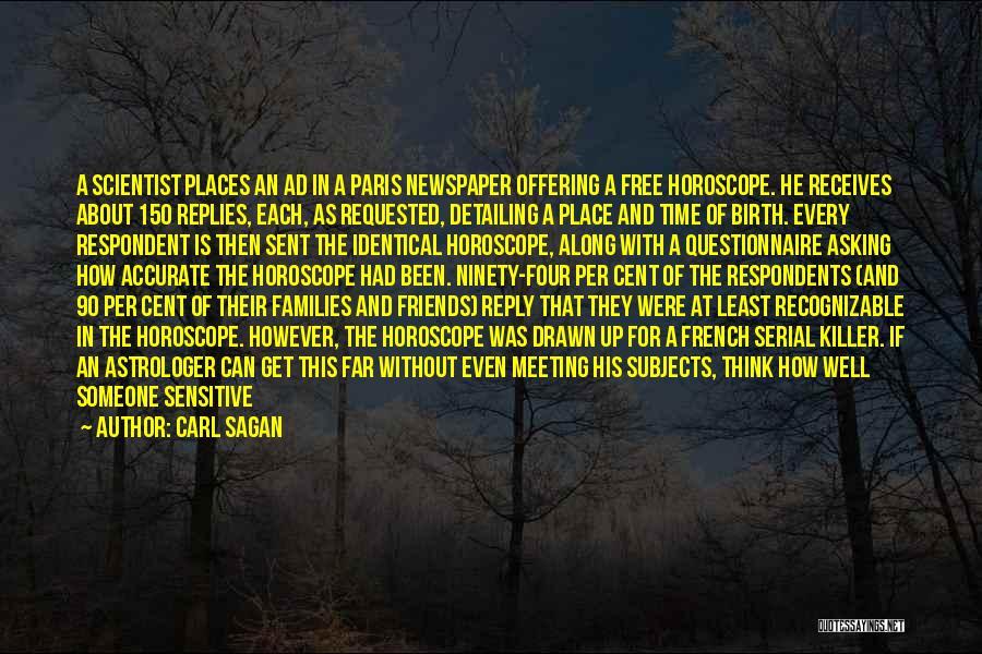 Serial Killer Quotes By Carl Sagan