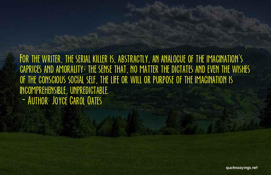 Serial Killer Quotes By Joyce Carol Oates