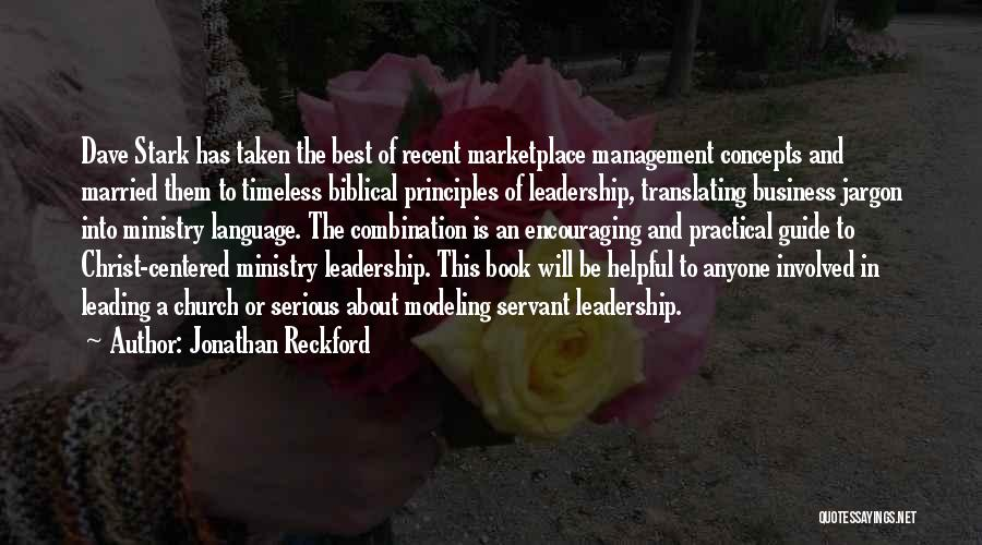 Servant Biblical Quotes By Jonathan Reckford