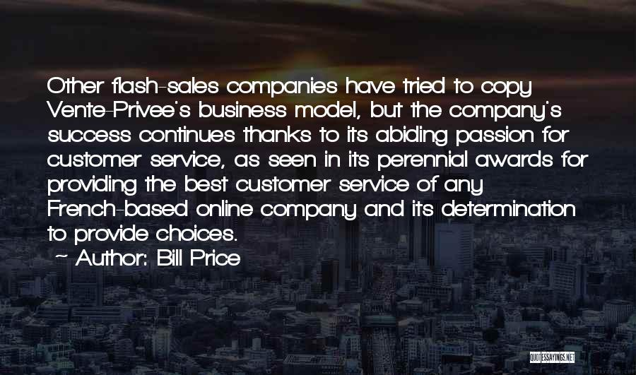 Service Awards Quotes By Bill Price