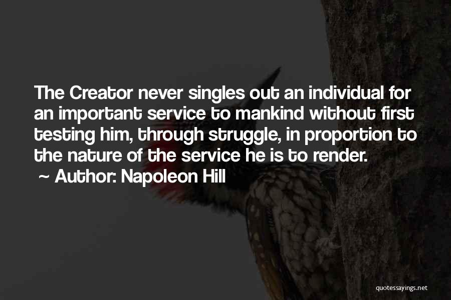 Service To Mankind Is Service To God Quotes By Napoleon Hill