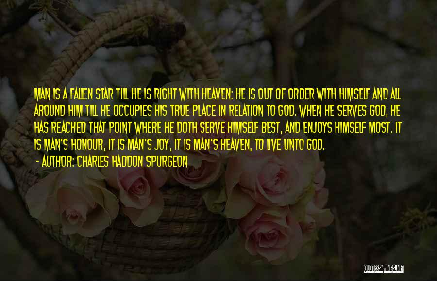 Serving God With Joy Quotes By Charles Haddon Spurgeon