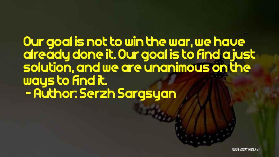 Serzh Sargsyan Quotes 626810