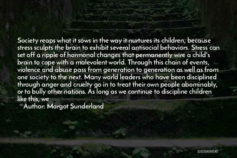 Set Off Long Quotes By Margot Sunderland