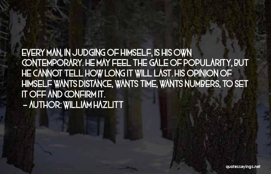 Set Off Long Quotes By William Hazlitt