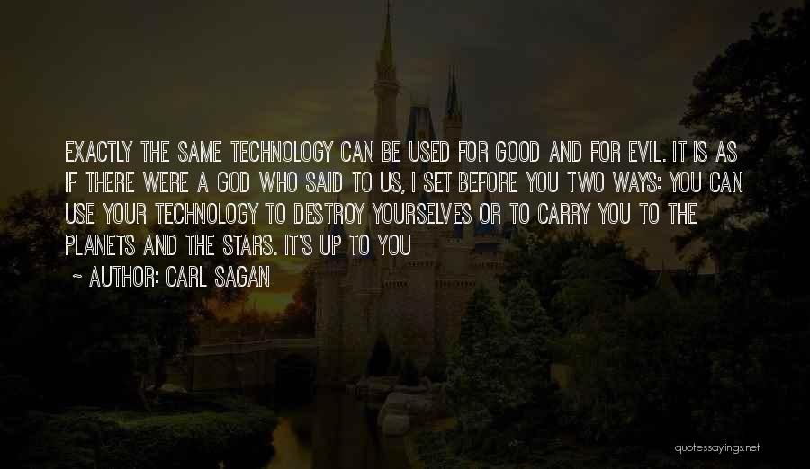 Set Up Quotes By Carl Sagan