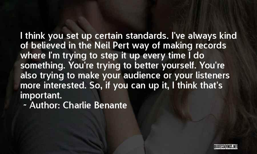 Set Up Quotes By Charlie Benante