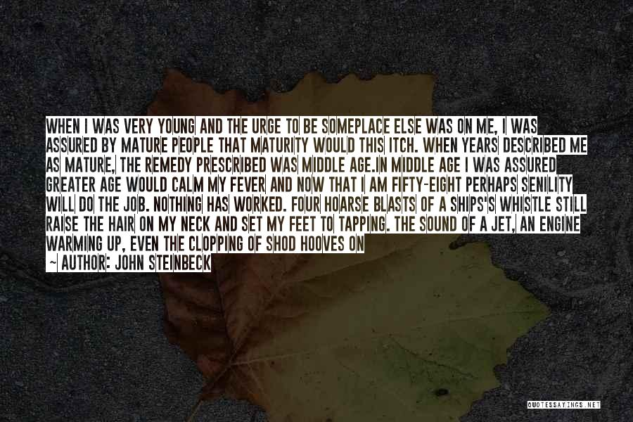 Set Up Quotes By John Steinbeck