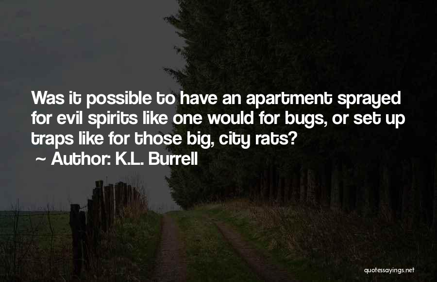 Set Up Quotes By K.L. Burrell