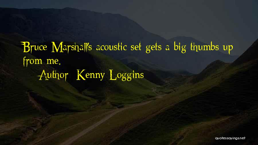 Set Up Quotes By Kenny Loggins