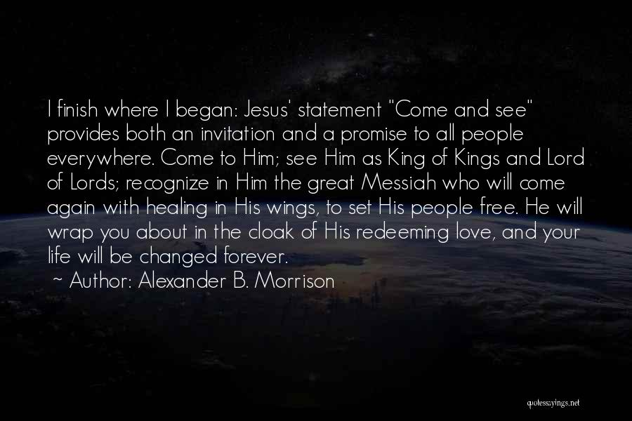 Set You Free Quotes By Alexander B. Morrison