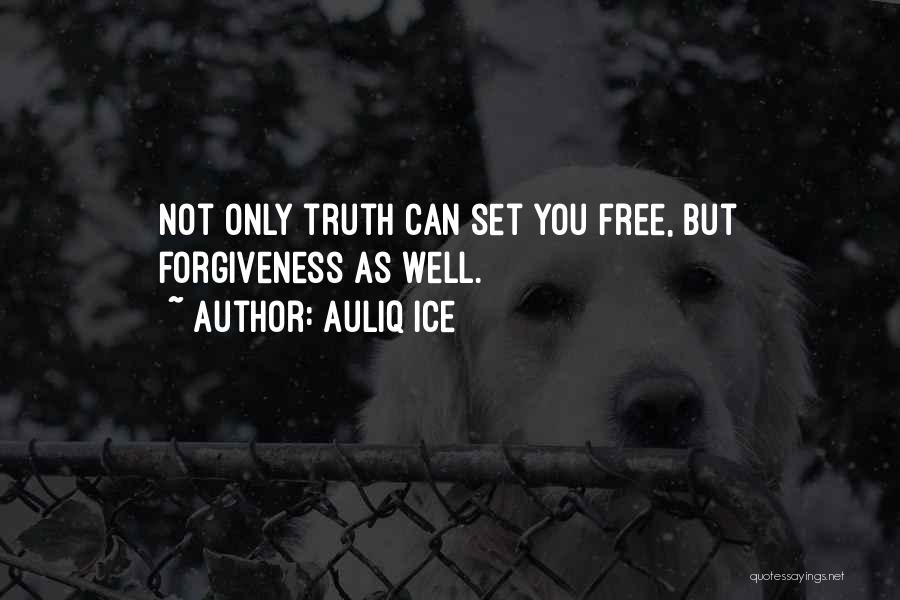 Set You Free Quotes By Auliq Ice
