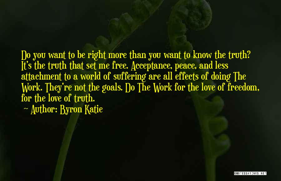 Set You Free Quotes By Byron Katie