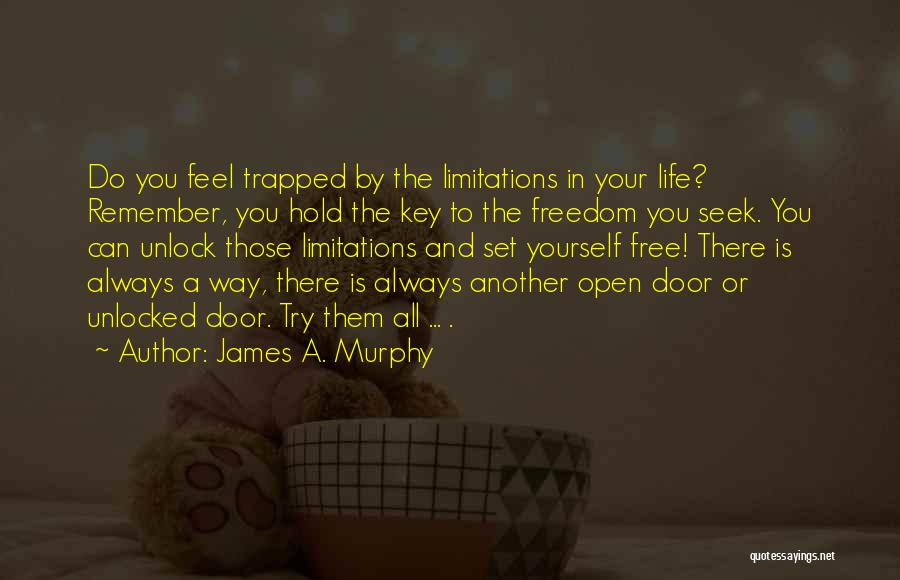 Set You Free Quotes By James A. Murphy