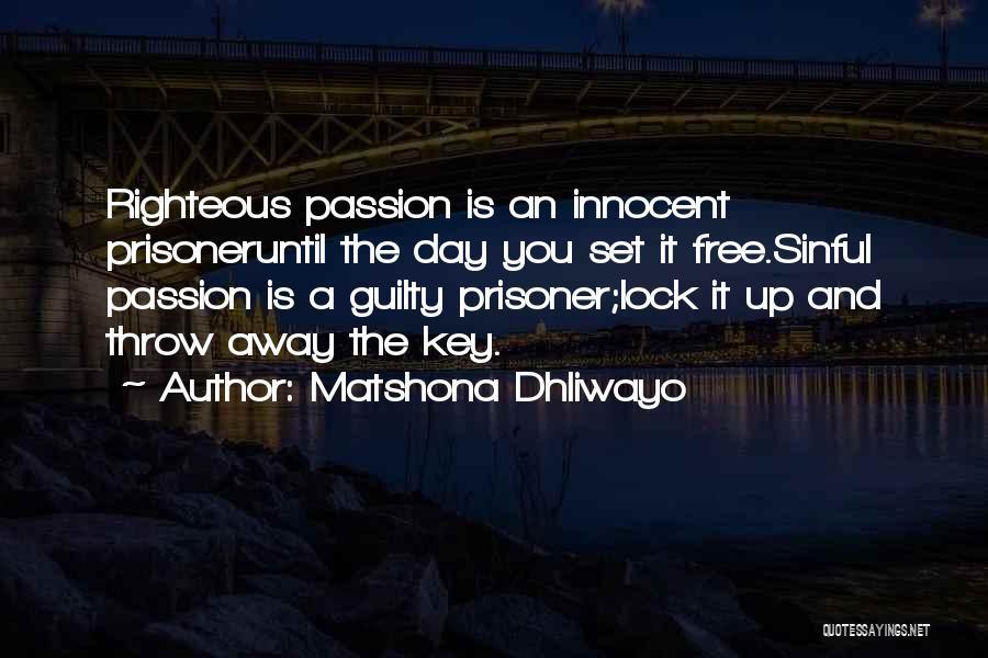 Set You Free Quotes By Matshona Dhliwayo