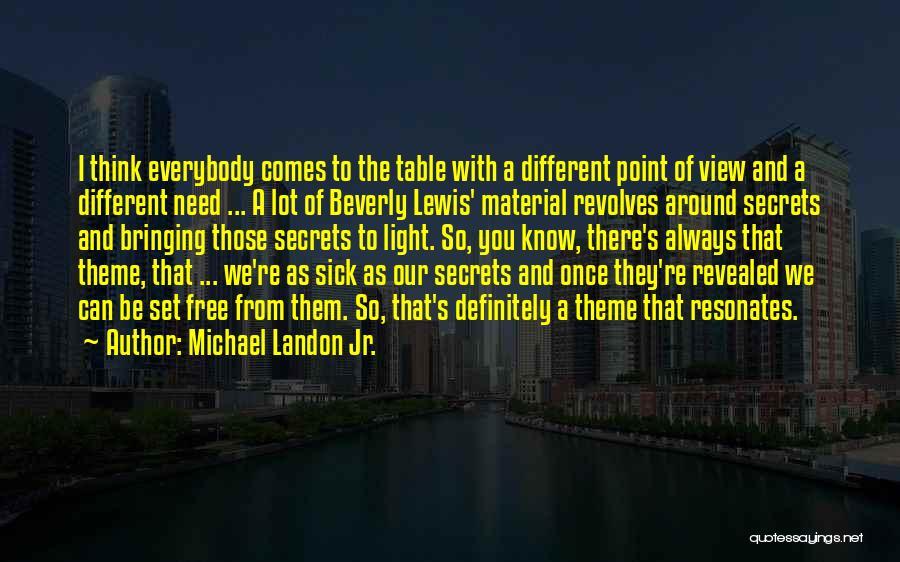 Set You Free Quotes By Michael Landon Jr.