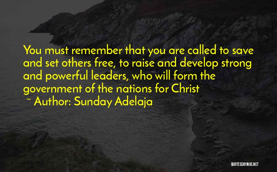 Set You Free Quotes By Sunday Adelaja
