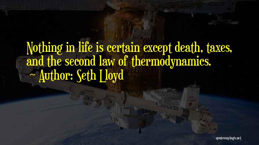 Seth Lloyd Quotes 1232172
