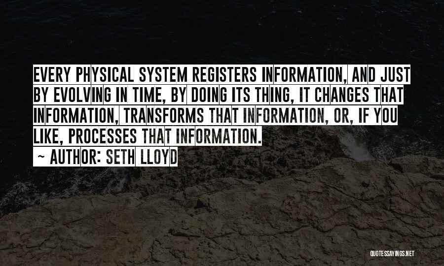 Seth Lloyd Quotes 1563353