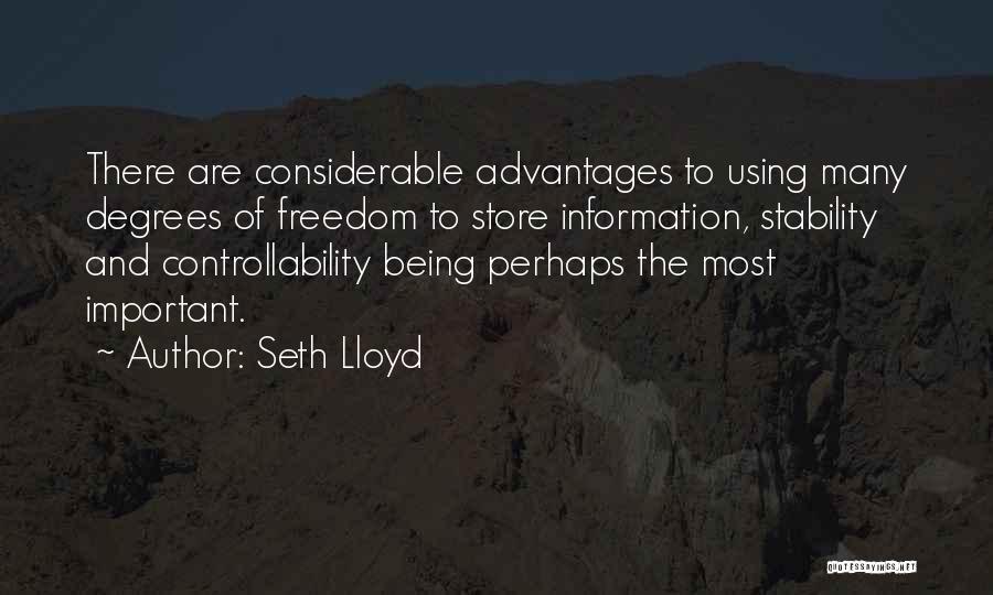 Seth Lloyd Quotes 362307