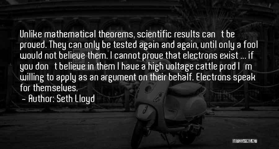 Seth Lloyd Quotes 678263