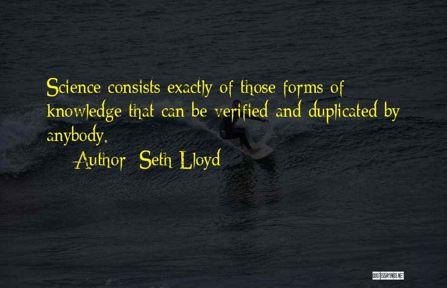 Seth Lloyd Quotes 82574