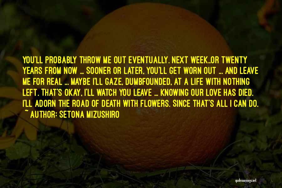 Setona Mizushiro Quotes 1125947