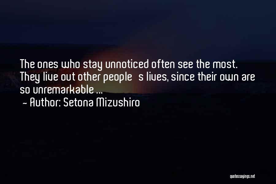 Setona Mizushiro Quotes 2186798