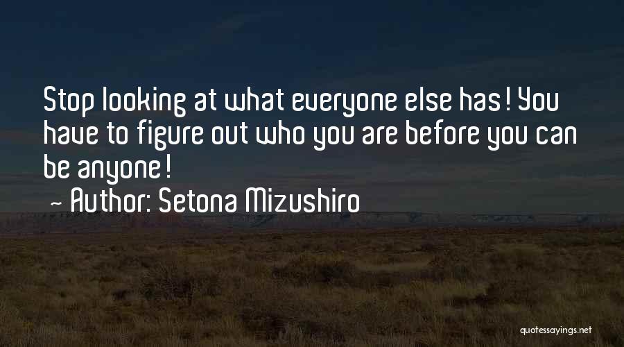Setona Mizushiro Quotes 2216582