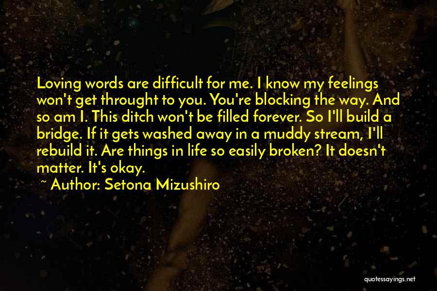 Setona Mizushiro Quotes 597647