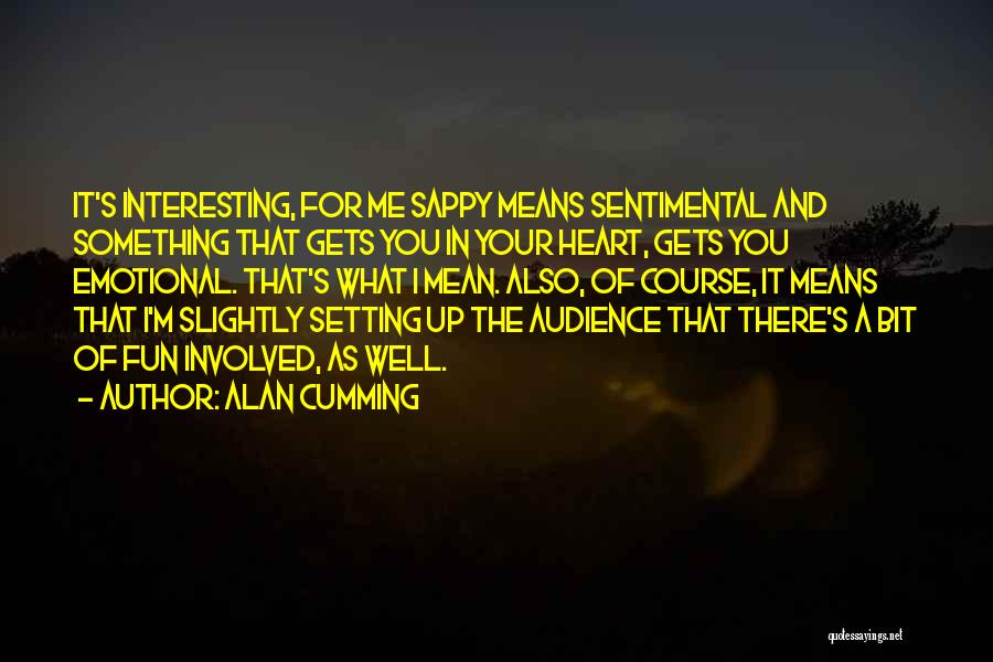 Setting A Course Quotes By Alan Cumming