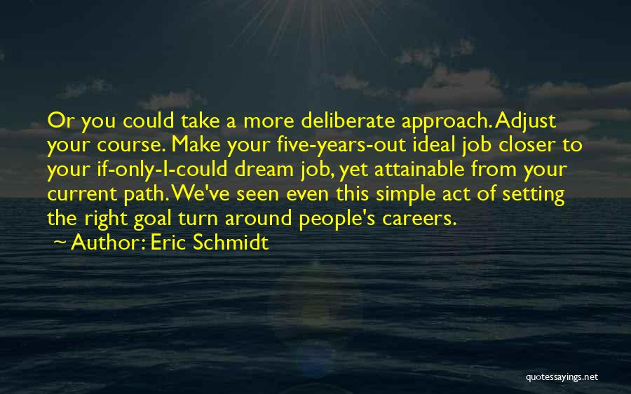 Setting A Course Quotes By Eric Schmidt