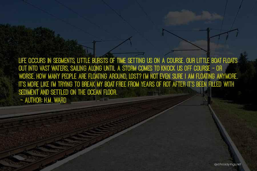 Setting A Course Quotes By H.M. Ward