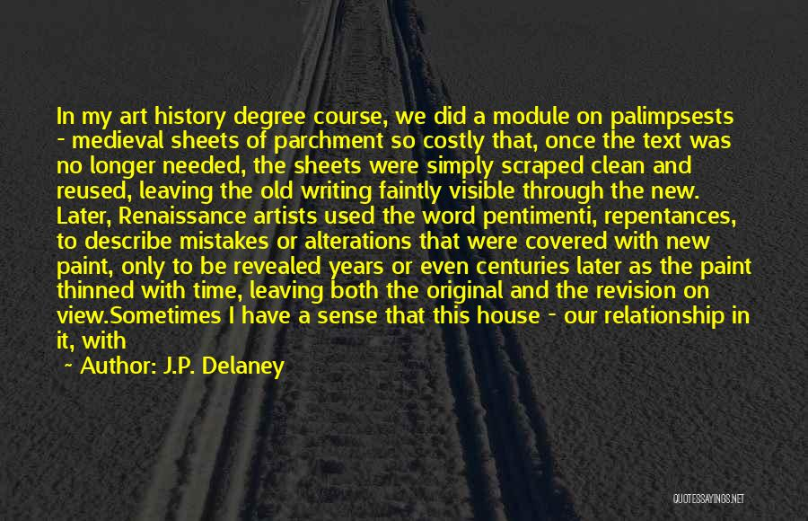 Setting A Course Quotes By J.P. Delaney